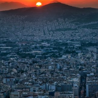 fine art print athens greece