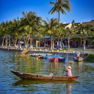 fine art print fisherwoman hoi an vietnam