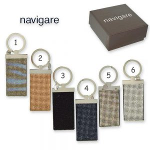 Navigare Women's Strass Key Ring