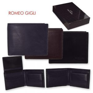 Romeo Gigli Men's Calf Leather Wallet