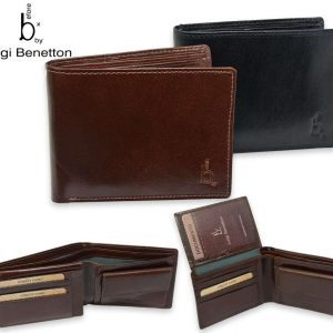 Luigi Benetton Men's Leather Wallet