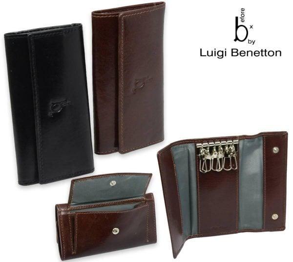 Luigi Benetton Men's Leather Key Case